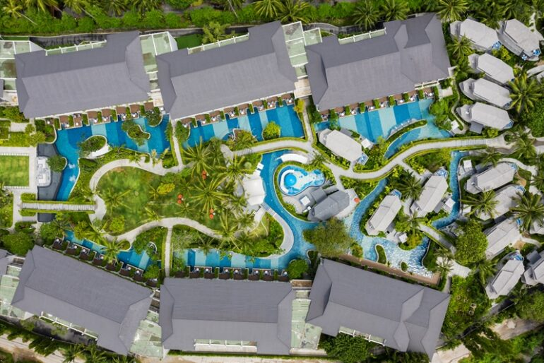 The nautical-themed resort is home to a host of remarkable facilities including a 1600sqm lagoon pool