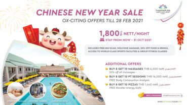 Thanyapura Ox-citing Lunar New Year promotions