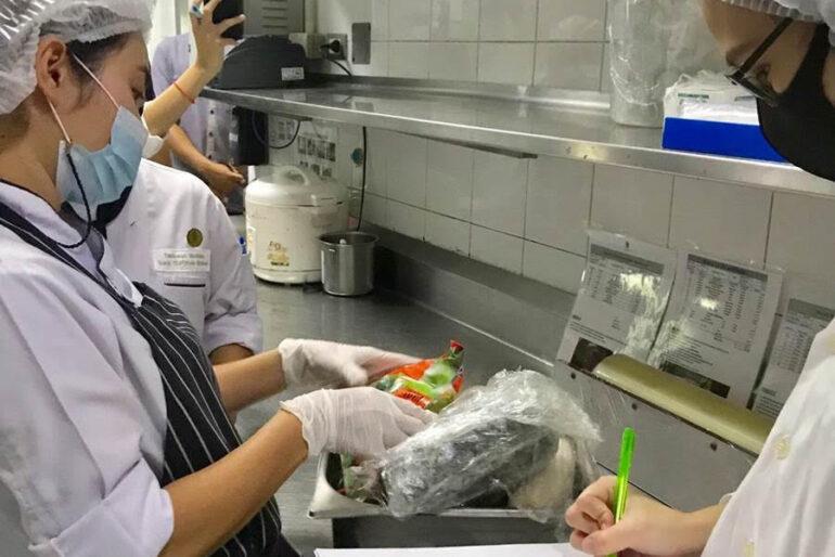 HACCP kitchen inspection at Banyan Tree Samui