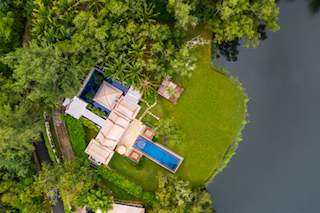 Guests can stay in a breath-taking DoublePool Villa at Banyan Tree Phuket