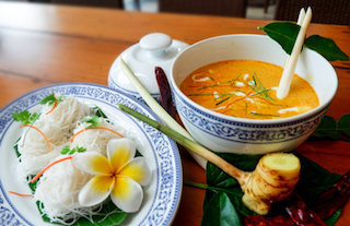 Phuket's famous crab curry, Gaeng Pooh is a must-try dish for visitors to southern Thailand